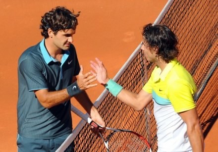 Roger Federer i  Rafael Nadal /AFP