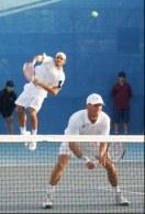 Roger Federer i Yves Allegro wyeliminowali z igrzysk polski debel /AFP