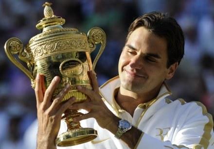 Roger Federer - najlepszy i najlepiej opłacany tenisista świata /AFP