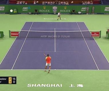 Roger Federer w ćwierćfinale. Wideo