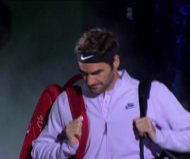Roger Federer wygrał w Szanghaju. Wideo