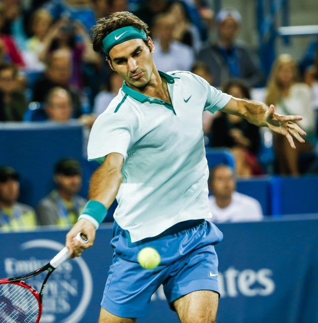 Roger Federer /TANNEN MAURY  /PAP/EPA