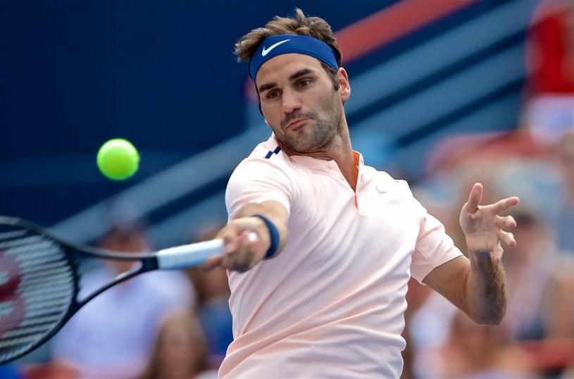 Roger Federer /ANDRE PICHETTE /PAP/EPA
