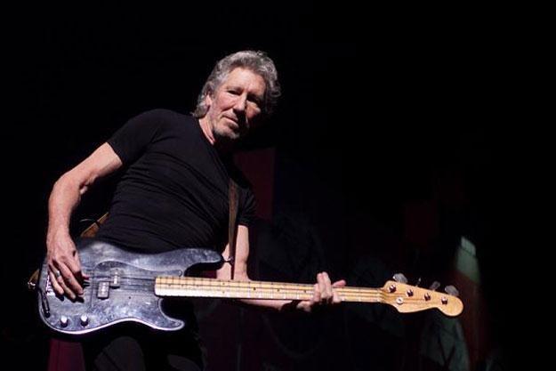 """Roger Waters podczas koncertu w Łodzi zaprezentował słynne """"The Wall"""" /Bartosz Nowicki / www.bartosznowicki.pl"""
