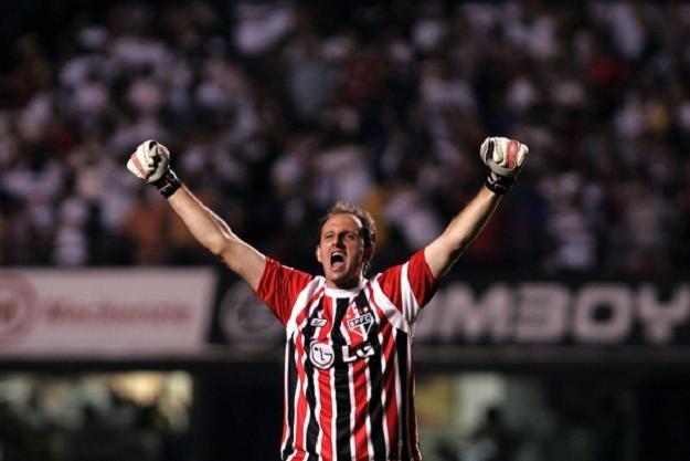 Rogerio Ceni, bramkarz FC Sao Paulo /AFP