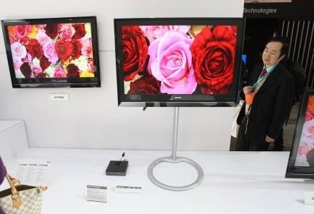 Rok 2010 znowu przyniesie wzrost sprzedaży telewizorów /AFP