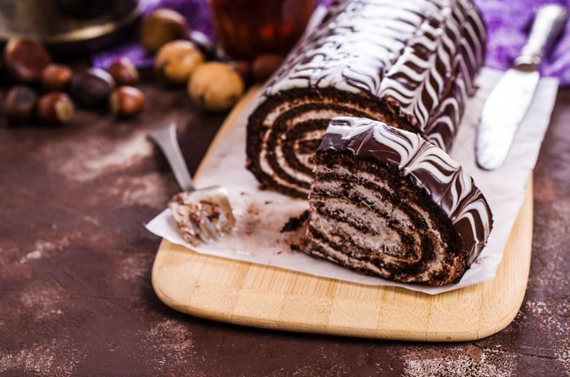 Rolada czekoladowa /123RF/PICSEL