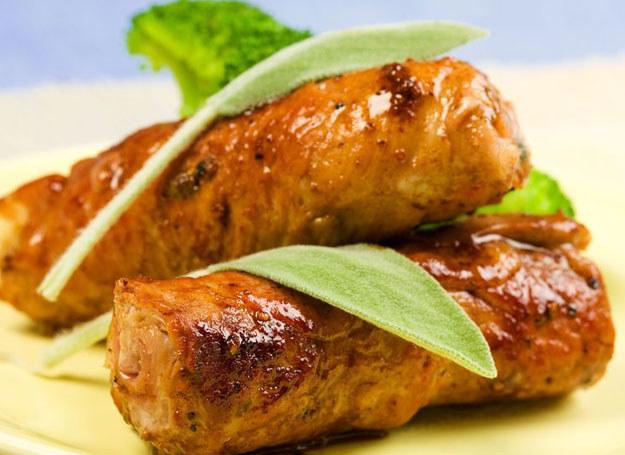 Roladki cielęce z bryndzą i żółtym serem /©123RF/PICSEL