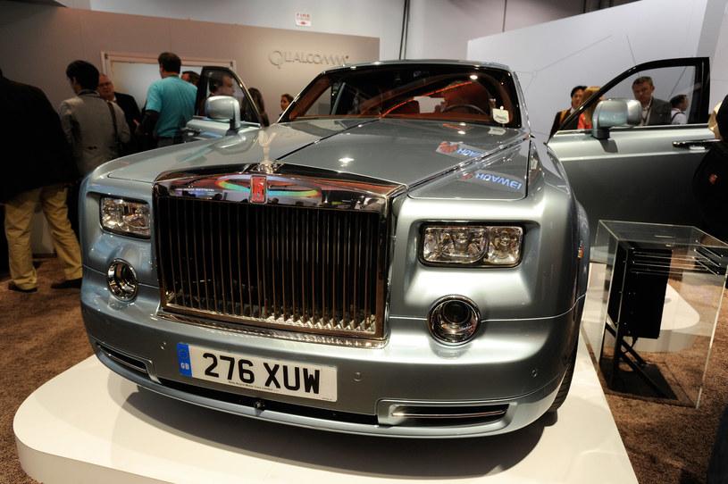 Rolls-Royce - on także znalazł się na stoisku Qualcomm. Nie przez przypadek, firma stawia także na inteligentne rozwiązania dla motoryzacji /AFP