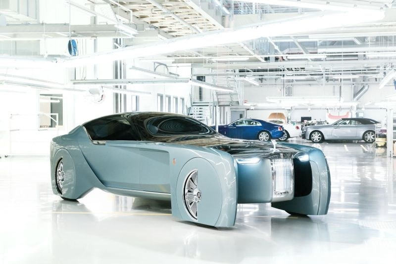 Rolls-Royce VISION NEXT 100 /