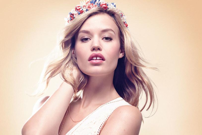 Romantyczny look Georgii May Jagger, ambasadorki marki Rimmel /materiały prasowe