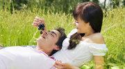 Romantyczny piknik zakochanych