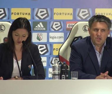 Romeo Jozak po meczu z Cracovią (1-0). Wideo