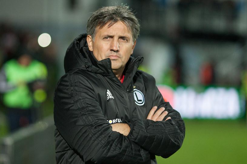 Romeo Jozak, trener Legii /Łukasz Capar /East News