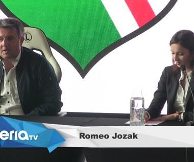 Romeo Jozak zaprezentowany jako szkoleniowiec Legii Warszawa (wideo)