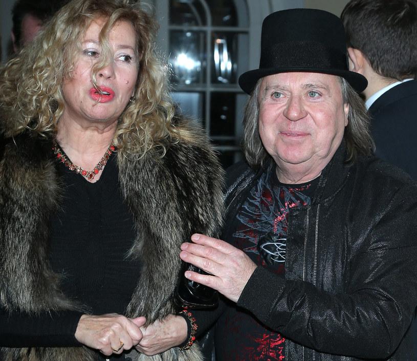 Romuald Lipko z żoną /Paweł Wrzecion /MWMedia