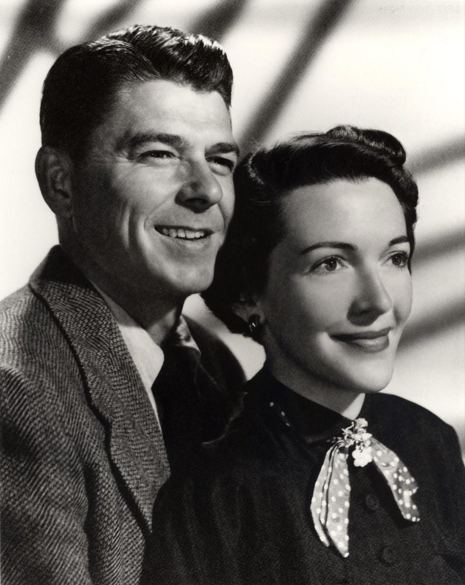 Ronald i Nancy Reagan /RONALD REAGAN PRESIDENTIAL LIBRARY /PAP/EPA