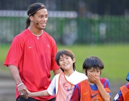 Ronaldinho jest daleki od formy z najlepszych lat, a zdaniem wielu ma nadwagę. /AFP
