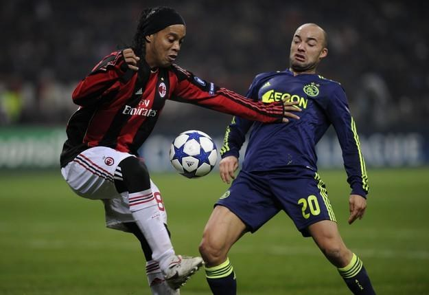 Ronaldinho odchodzi z Milanu /AFP