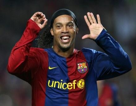 Ronaldinho po raz trzeci odbierze nagrodę Piłkarza Roku /AFP