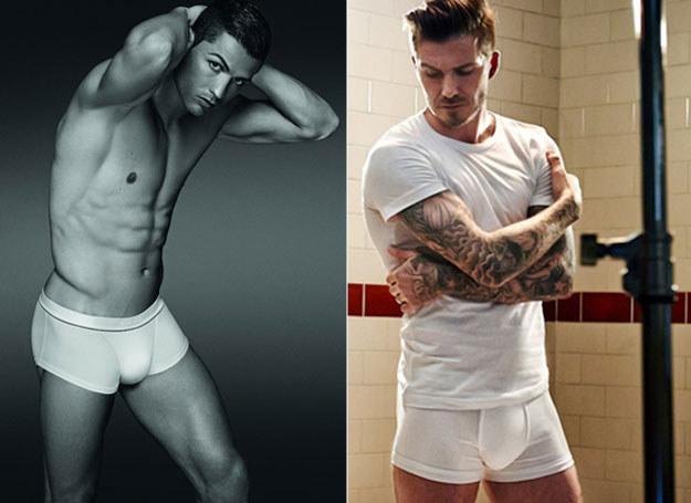 Ronaldo i David Beckham /East News