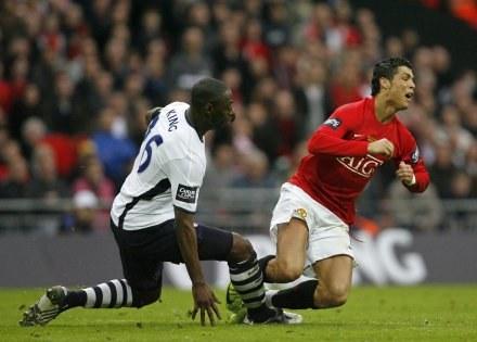 Ronaldo = mistrz udawania? /AFP