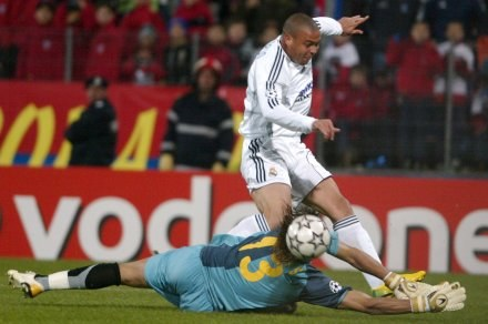 Ronaldo musi jeszcze zrzucić kilka kilogramów /AFP