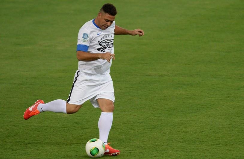 Ronaldo strzelił gola w pierwszym meczu rozegranym na przebudowanej Maracanie /AFP