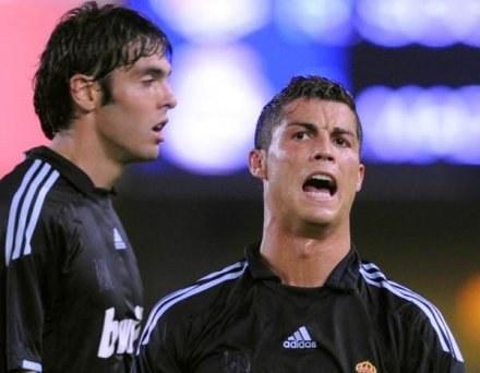 Ronaldo zdaniem hiszpańskiej prasy narzeka na swoją rolę boiskową w Realu /AFP