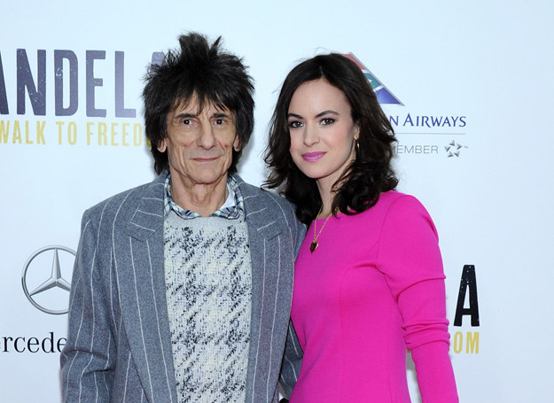 Ronnie Wood i Sally Wood /Getty Images