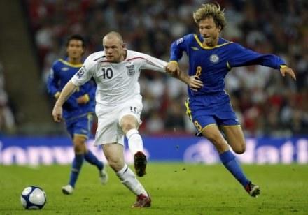 Rooney z optymizmem patrzy w przyszłość reprezentacji Anglii /AFP