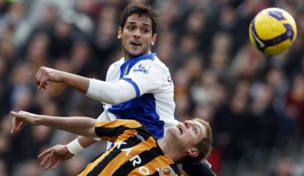 Roque Santa Cruz znalazł się na celowniku Liverpoolu /AFP