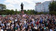 """Rosja: Demonstracja przeciw uznaniu Fundacji """"Dynastia"""" za """"zagranicznego agenta"""""""