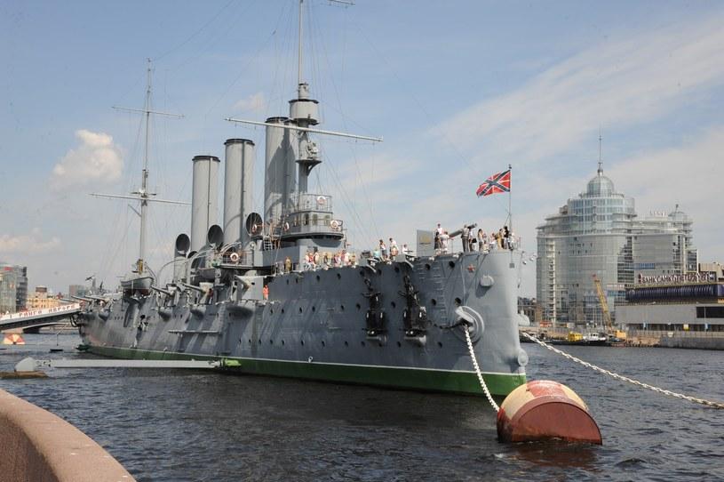 Rosja, krążownik Aurora /Zenon Zyburtowicz /East News