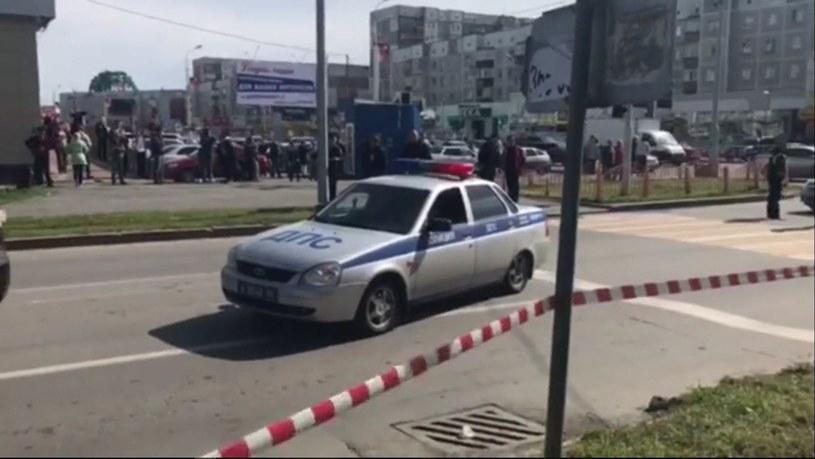 Rosja: Policja zastrzeliła nożownika, który ranił siedem osób /RUSSIAN INTERIOR MINISTRY /PAP/EPA