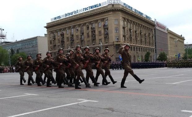 Rosja świętuje zwycięstwo nad Niemcami