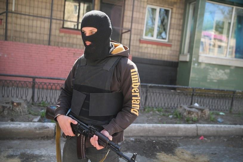 Rosja zaprzecza, by na Ukrainie działali jej żołnierze /AFP