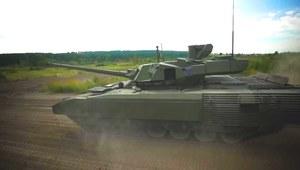Rosjanie chwalą się Armatą. Czołg ruszył na testy