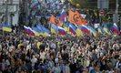 Rosjanie protestowali przeciwko wojnie