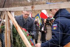 Rosjanie uczcili w Pieniężnie rocznicę śmierci sowieckiego generała