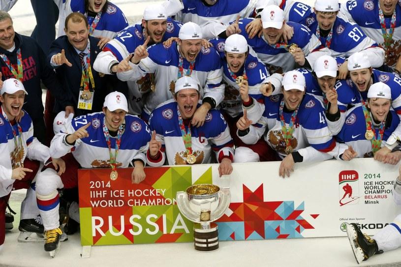 Rosjanie w wielkim stylu zdobyli mistrzostwo świata /PAP/EPA