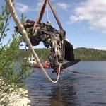 Rosjanie wyłowili z jeziora wrak myśliwca z czasów II wojny światowej