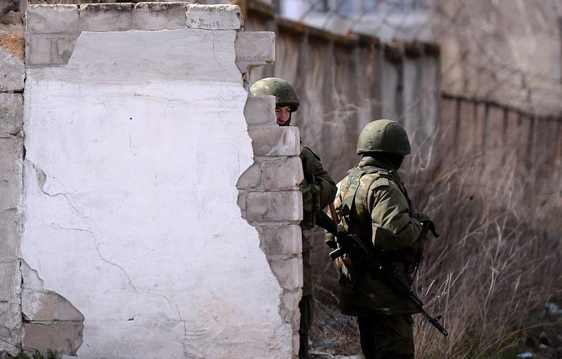 Rosjanie wysadzili desant /AFP