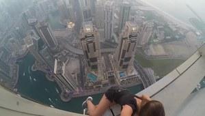 Rosjanka szaleje na szczytach wieżowców w Dubaju