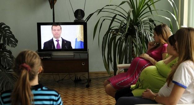 Rosjanki będą mogły rodzić w olsztyńskim szpitalu /AFP