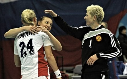 Rosjanki po raz trzeci z rzędu zdobyły złoto MŚ /AFP