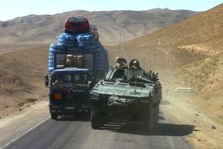 Rosomaki to najbezpieczniejszy środek transportu /