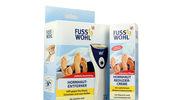 Rossmann: Fusswohl - Elektroniczny pilnik do stóp i  krem redukujący zrogowacenia skóry
