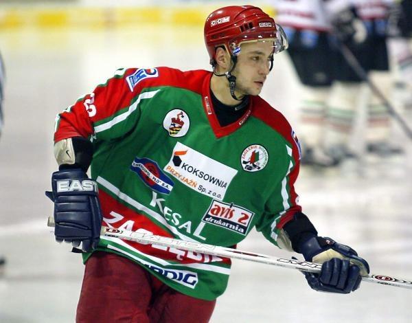 Rostislav Saglo zapewnił Zagłębiu długo oczekiwaną wygraną/fot. Wojciech Łysko /Agencja Przegląd Sportowy