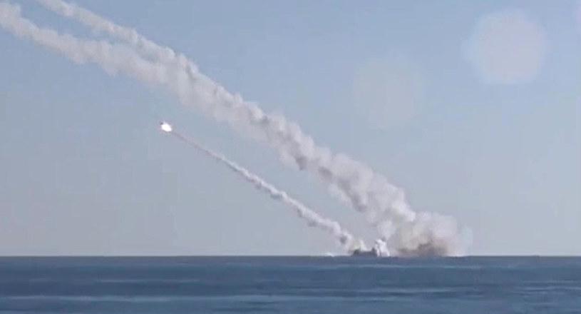 """""""Rostów nad Donem"""" odpala rakiety """"Kalibr"""" w stronę Syrii /INTERIA.PL/materiały prasowe"""